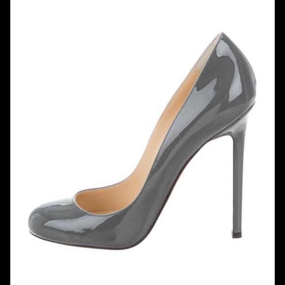 Christian Louboutin - Lady Lynch - Grey Heels